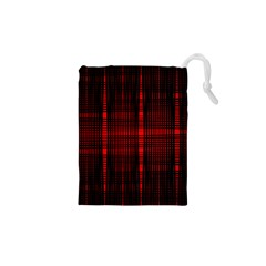 Black And Red Backgrounds Drawstring Pouches (xs)
