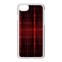 Black And Red Backgrounds Apple Iphone 7 Seamless Case (white)