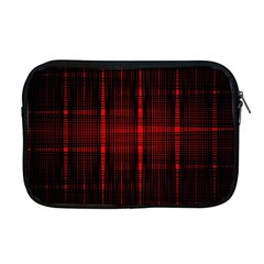 Black And Red Backgrounds Apple Macbook Pro 17  Zipper Case