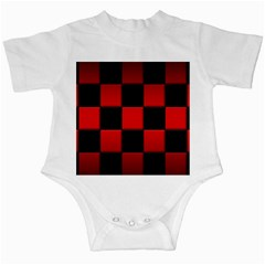 Black And Red Backgrounds Infant Creepers