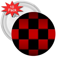 Black And Red Backgrounds 3  Buttons (10 Pack)