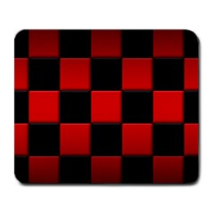 Black And Red Backgrounds Large Mousepads