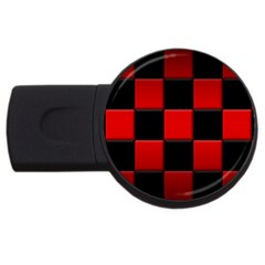 Black And Red Backgrounds Usb Flash Drive Round (4 Gb)