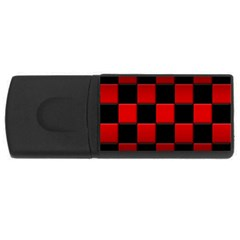 Black And Red Backgrounds Usb Flash Drive Rectangular (4 Gb)