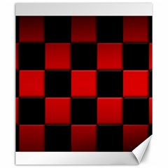 Black And Red Backgrounds Canvas 20  X 24