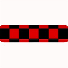 Black And Red Backgrounds Large Bar Mats