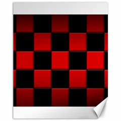 Black And Red Backgrounds Canvas 11  X 14