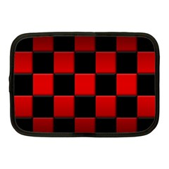 Black And Red Backgrounds Netbook Case (medium)