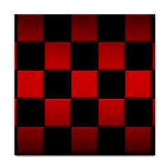 Black And Red Backgrounds Face Towel