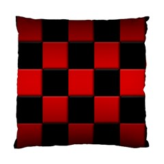 Black And Red Backgrounds Standard Cushion Case (two Sides)
