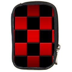 Black And Red Backgrounds Compact Camera Cases