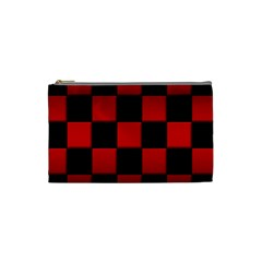 Black And Red Backgrounds Cosmetic Bag (small)
