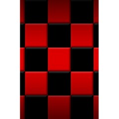 Black And Red Backgrounds 5.5  x 8.5  Notebooks