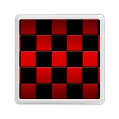 Black And Red Backgrounds Memory Card Reader (square)