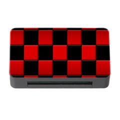 Black And Red Backgrounds Memory Card Reader With Cf