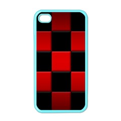 Black And Red Backgrounds Apple Iphone 4 Case (color)
