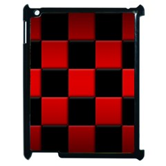Black And Red Backgrounds Apple Ipad 2 Case (black)