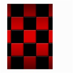 Black And Red Backgrounds Small Garden Flag (two Sides)