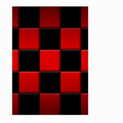 Black And Red Backgrounds Large Garden Flag (two Sides)