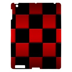 Black And Red Backgrounds Apple Ipad 3/4 Hardshell Case