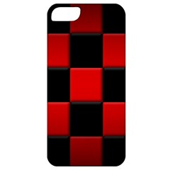 Black And Red Backgrounds Apple Iphone 5 Classic Hardshell Case