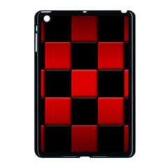 Black And Red Backgrounds Apple Ipad Mini Case (black)