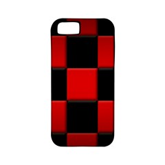 Black And Red Backgrounds Apple Iphone 5 Classic Hardshell Case (pc+silicone)