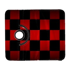 Black And Red Backgrounds Galaxy S3 (flip/folio)