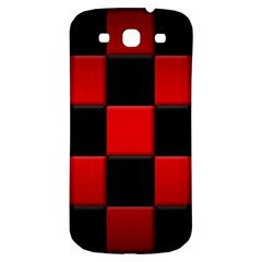 Black And Red Backgrounds Samsung Galaxy S3 S Iii Classic Hardshell Back Case
