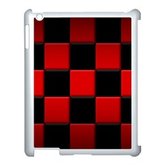 Black And Red Backgrounds Apple Ipad 3/4 Case (white)