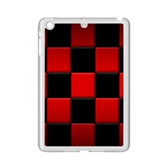 Black And Red Backgrounds Ipad Mini 2 Enamel Coated Cases