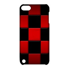 Black And Red Backgrounds Apple Ipod Touch 5 Hardshell Case With Stand