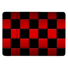 Black And Red Backgrounds Samsung Galaxy Tab 8 9  P7300 Flip Case