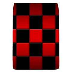 Black And Red Backgrounds Flap Covers (l)