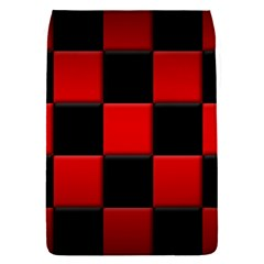 Black And Red Backgrounds Flap Covers (s)