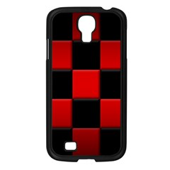 Black And Red Backgrounds Samsung Galaxy S4 I9500/ I9505 Case (black)