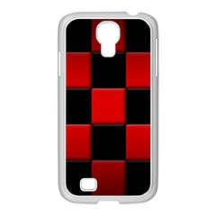 Black And Red Backgrounds Samsung Galaxy S4 I9500/ I9505 Case (white)