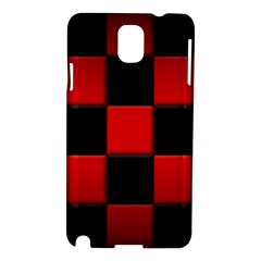 Black And Red Backgrounds Samsung Galaxy Note 3 N9005 Hardshell Case