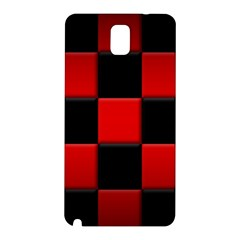 Black And Red Backgrounds Samsung Galaxy Note 3 N9005 Hardshell Back Case