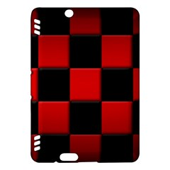 Black And Red Backgrounds Kindle Fire Hdx Hardshell Case