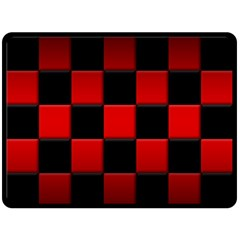 Black And Red Backgrounds Double Sided Fleece Blanket (large)
