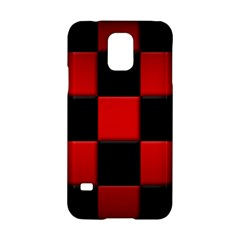 Black And Red Backgrounds Samsung Galaxy S5 Hardshell Case