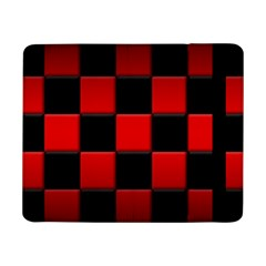 Black And Red Backgrounds Samsung Galaxy Tab Pro 8 4  Flip Case
