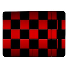 Black And Red Backgrounds Samsung Galaxy Tab Pro 12 2  Flip Case
