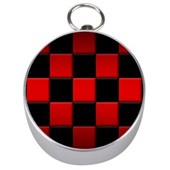 Black And Red Backgrounds Silver Compasses