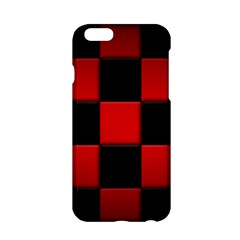 Black And Red Backgrounds Apple Iphone 6/6s Hardshell Case
