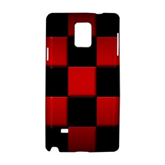 Black And Red Backgrounds Samsung Galaxy Note 4 Hardshell Case