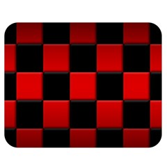 Black And Red Backgrounds Double Sided Flano Blanket (medium)