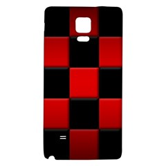 Black And Red Backgrounds Galaxy Note 4 Back Case
