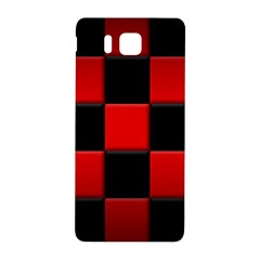 Black And Red Backgrounds Samsung Galaxy Alpha Hardshell Back Case